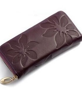 Women Wallet Purple
