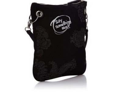 Desigual bag black heart