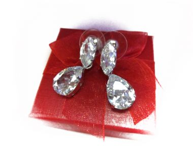 Earrings Crystal Tears