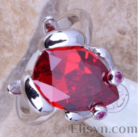 Frog ruby ring