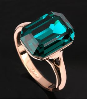 Catalog ring, engagement ring prices, gold engagement rings, gold jewelry catalog   Penelope Emerald Ring